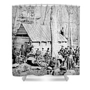 Maple Sugar Party, C1900 Shower Curtain