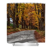 Maple Tree Road Shower Curtain