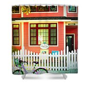 Maple View Manor Shower Curtain