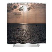 Marathon Sunset Shower Curtain
