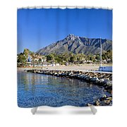 Marbella Holiday Resort In Spain Shower Curtain