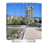 Marbella Resort In Spain Shower Curtain