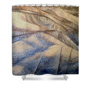 Marble 12 Shower Curtain