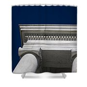 Marble Architecture Shower Curtain