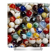 Marble Collection 9 Shower Curtain
