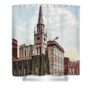 Marble Collegiate Church Holland House New York Shower Curtain