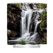 Marble Falls Waterfall 3 Shower Curtain