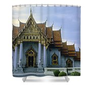 Marble Palace Shower Curtain