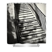 Marble Steps Shower Curtain