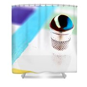 Marble And The Thimble Shower Curtain