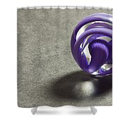Marble Wilkerson Glass 1 Shower Curtain