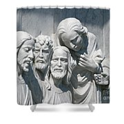 Marble Work Shower Curtain