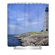 Marblehead Light Shower Curtain
