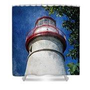 Marblehead Lighthouse 2 Shower Curtain