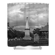 Marblehead Old Burial Hill Cemetery Shower Curtain
