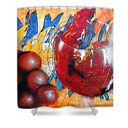 Marcello's Way Shower Curtain