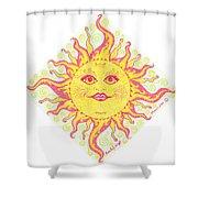 March Miss Patty Sun Shower Curtain