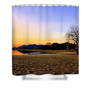 March Morning Osoyoos Shower Curtain