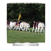 March To Freedom Shower Curtain
