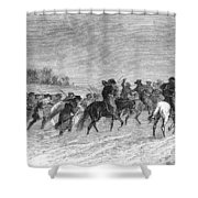 March To Trenton, 1776 Shower Curtain