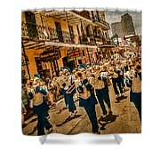 Marching Band Shower Curtain