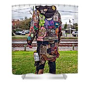 Marching To His Own Drummer 3 Shower Curtain