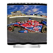 Marco Andretti Shower Curtain by Blake Richards
