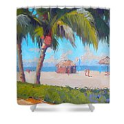 Marco Island Shower Curtain