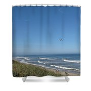 Marconi Beach Wellfleet Ma Shower Curtain