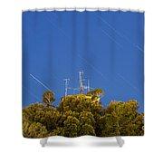 Marconi Radio Tower Shower Curtain