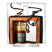 Marconis First Transmitter 1897 Shower Curtain