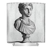 Marcus Annius Verus Shower Curtain