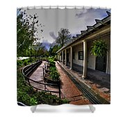 Marcy Casino In Delaware Park Shower Curtain
