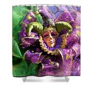 Mardi Gras Decoration Shower Curtain