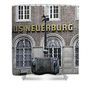 Mardi Gras Fountain Cologne German Shower Curtain