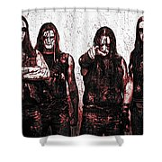 Marduk Shower Curtain