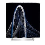 Margaret Hunt Hill Bridge Shower Curtain
