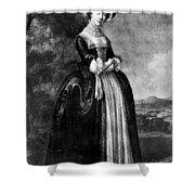 Margaret Woffington (c1714-1760) Shower Curtain