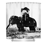 Margate Elephant, C1900 Shower Curtain