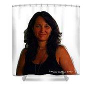 Mari Carmen Shower Curtain