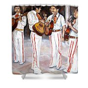 Mariachi  Musicians Shower Curtain
