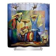 Mariachi  Shower Curtain