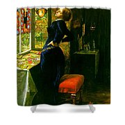 Mariana In The Moated Grange 1851 Shower Curtain