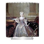 Mariana Victoria Of Spain (1718-1781) Shower Curtain