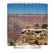 Maricopa Point Grand Canyon National Park Shower Curtain