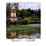 Marie - Antoinette's Estate Palace Of Versailles - Paris Shower Curtain