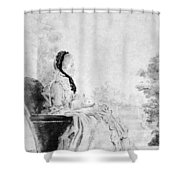 Marie De Vichy-chamrond (1679-1780) Shower Curtain