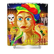 Marie Laveau Shower Curtain
