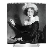 Marie Vigee-lebrun (1755-1842) Shower Curtain