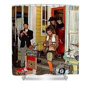 Marigny Musicians Shower Curtain